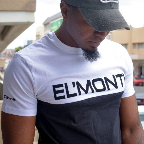 EL'MONTI t-shirt b/w